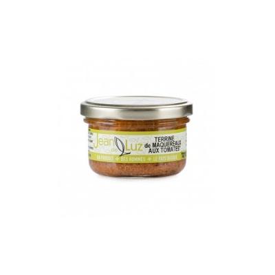 Terrine de maquereaux à la tomate 85g