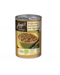 Soupe de Lentilles Légumes