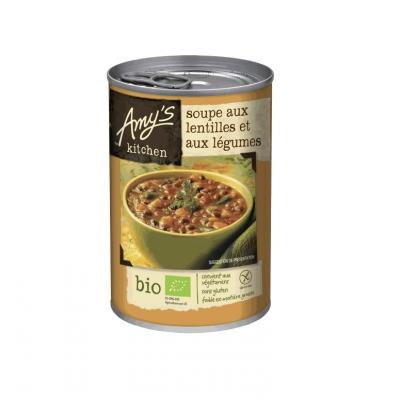 Soupe aux Lentilles et Légumes