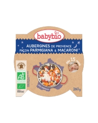 Assiette Bonne Nuit Aubergines & Macaroni
