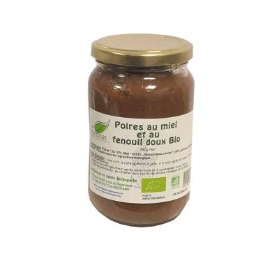 Poires au miel et fenouil doux 360g