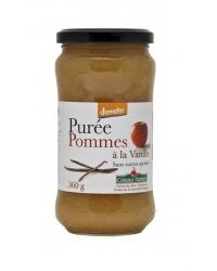 Purée de Pommes à la Vanille