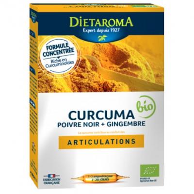 Curcuma bio 20amp
