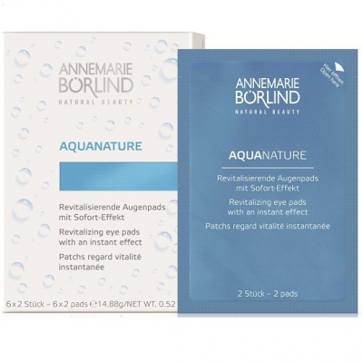 Aquanature patch regard vitalité börlind 6*2pads