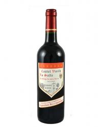 Vin Rouge Castel Vieilh, sans Soufre Ajouté