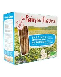 Tartines Craquantes au Sarrasin Sans Sel ni Sucre