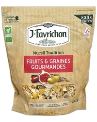 Muesli Tradition Fruits et Graines Gourmandes