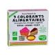 Assortiment colorants alimentaires 3x10g