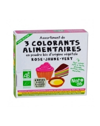 Assortiment de 3 Colorants Alimentaires