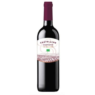 Vin rouge d'espagne châtelaine stephanie 75cl