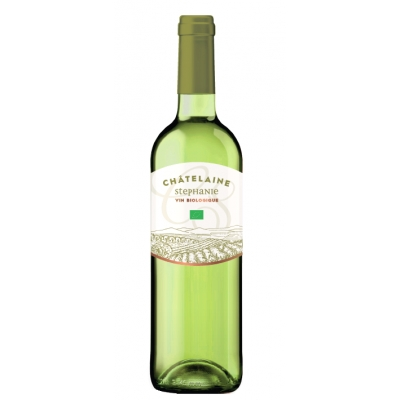 Vin blanc d'espagne châtelaine stéphanie 75cl