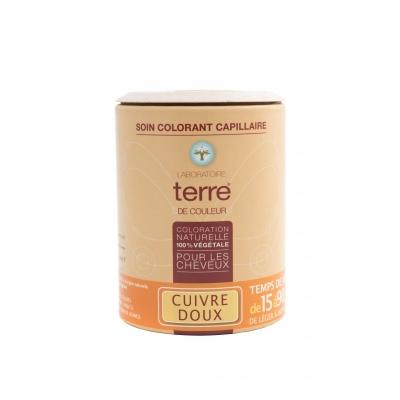 Soin colorant capillaire cuivre doux 100g
