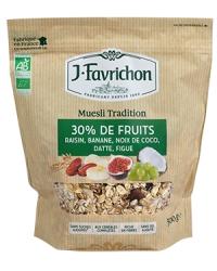 Muesli 30% Fruits