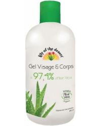 Gel Hydratant à l'Aloe Vera 97,4%