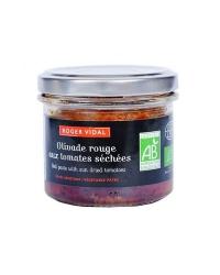Tartinable olivade rouge aux tomates séchées 90g