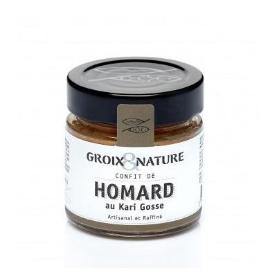 Confit de Homard au Kari Gosse