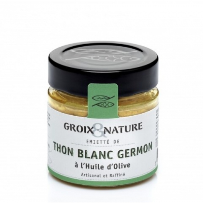 Emiettés de Thon Blanc Germon Huile d'Olive