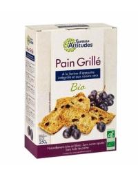 Pain Complet Grillé à l'Epeautre et aux Raisins Secs