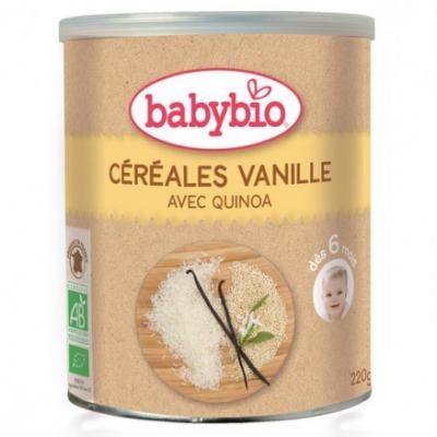 Babybio - Céréales Vanille