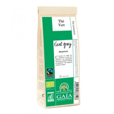 Thé Vert Earl Grey Bergamote 100g