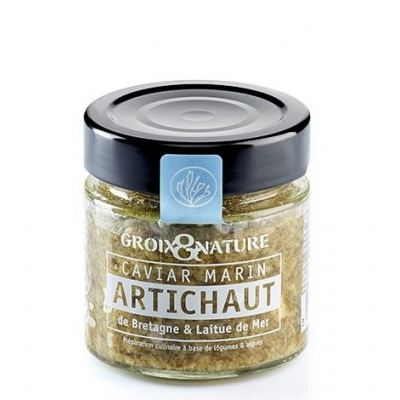 Caviar Marin Artichaut & Laitue de Mer