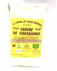 Farine de Châtaignes