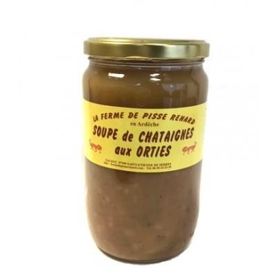 Soupe de Châtaignes aux Orties