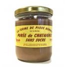 Purée de Châtaignes sans Sucre