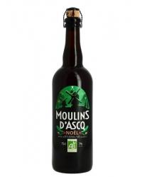 """""""bière de noël"""" moulins d'ascq 75cl"""