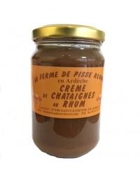 Crème de Châtaignes au Rhum