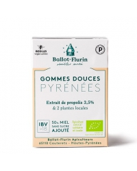Gommes Douces des Pyrénées à la Propolis