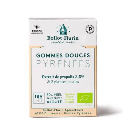 Gommes propolis sans sucre ajoute 40g