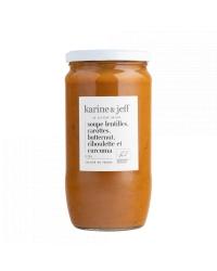 Soupe de Lentilles, Carottes et Butternut