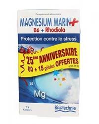 Magnésium Marin + B6 + Rhodiola