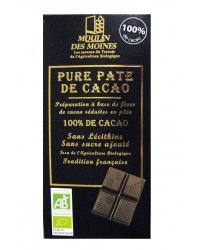 Chocolat Noir Pure Pâte de Cacao