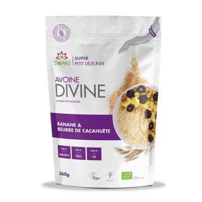Avoine divine banane & cacahuètes 360g