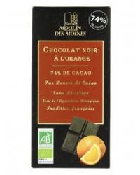 Chocolat Noir à l'Orange