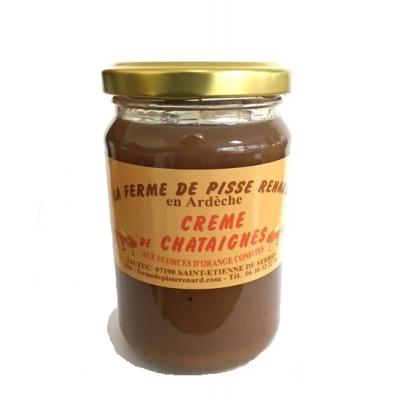 Crème de Châtaignes aux Ecorces d'Orange Confites