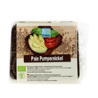 Pain cplt pumpernickel 375g