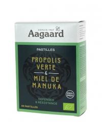 Pastilles Propolis Verte et Miel de Manuka