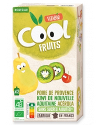 Cool Fruits Poire Kiwi Acérola