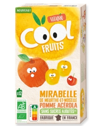 Cool Fruits Mirabelle Pomme Acérola