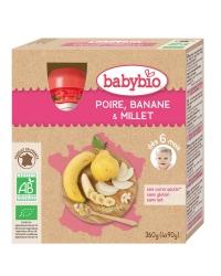 Gourdes Poire Banane Millet