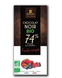 Chocolat Noir aux Fruits des Bois
