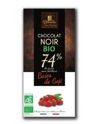Chocolat Noir aux Baies de Goji