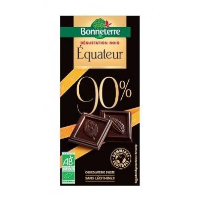 Chocolat Noir Equateur 90%