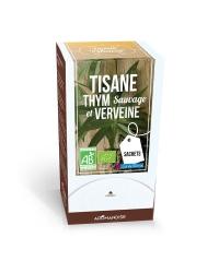Tisane Thym Sauvage et Verveine