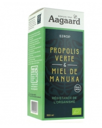 Sirop Propolis Verte et Miel de Manuka
