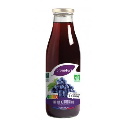 Jus de raisin noir 0,75l