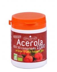 Acérola Fruits Rouges 1000mg Bio